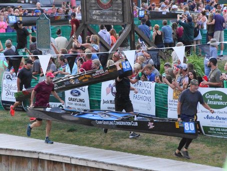 Andy Hall's First Ausable River Canoe Marathon
