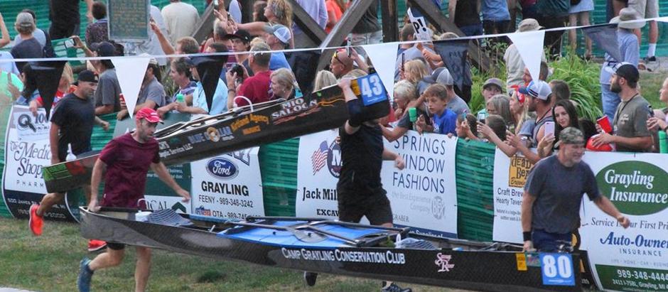 Andy Hall's First Ausable River Canoe Marathon