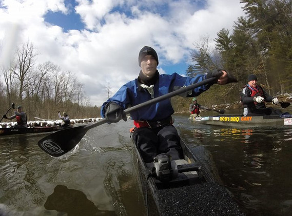Photo from the northern canoe camp a cou