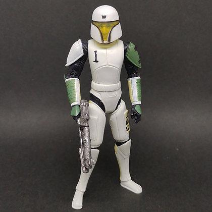 "CW41 Clone Trooper HEVY (training armor) the clone wars 3.75"""