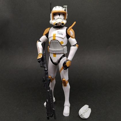 "CW7 Clone Commander CODY (phase II armor) the clone wars 3.75"""