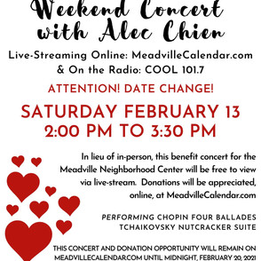 Valentines' Day Weekend Concert with Ale
