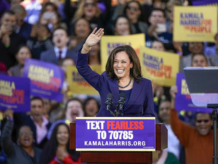 WATCH: Kamala Harris Says She is 'Proud' of the Alleged Rapist and His Anti-Semitic Dad