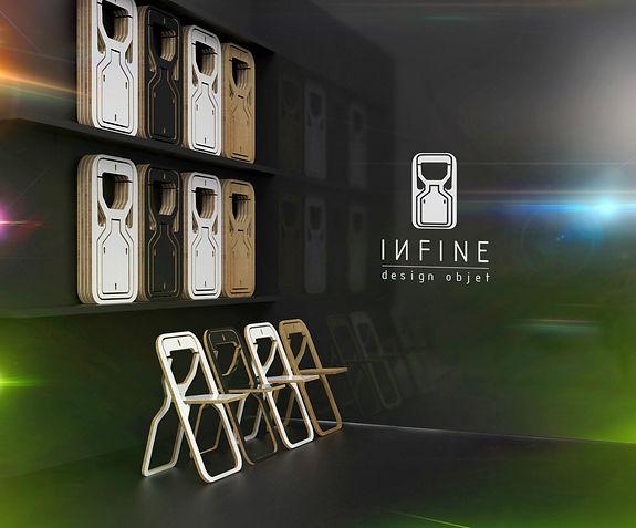 INFINE design objet stand exposition rangement
