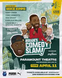 Kierre's Review of Boogie's Comedy Slam ★★★