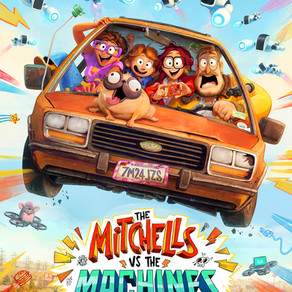Jason's Review of The Mitchells vs. The Machines 2021 ★★★★