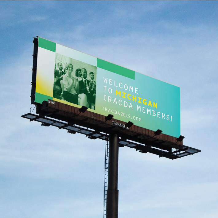 IRACDA billboard
