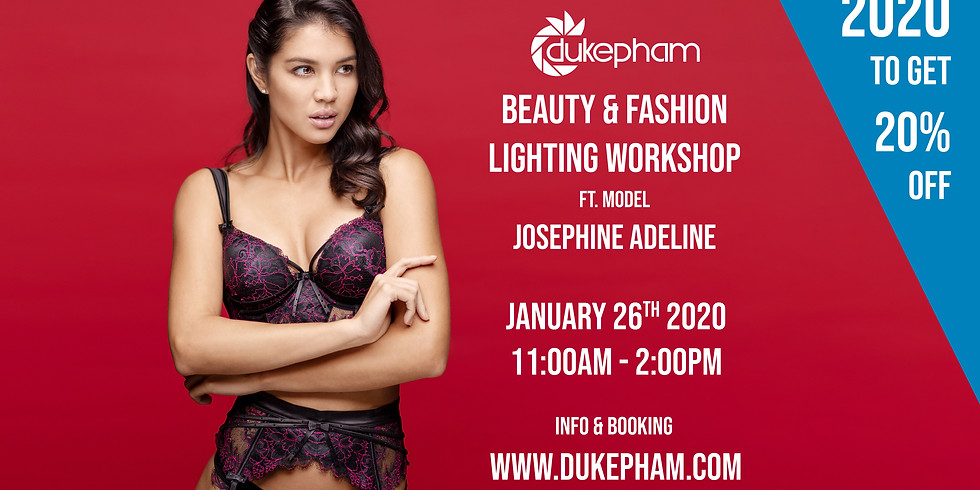 Beauty & Fashion Lighting Workshop ft. Josephine Adeline