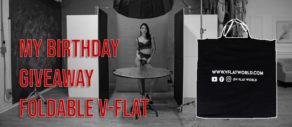 My Birthday Giveaway The V-Flat