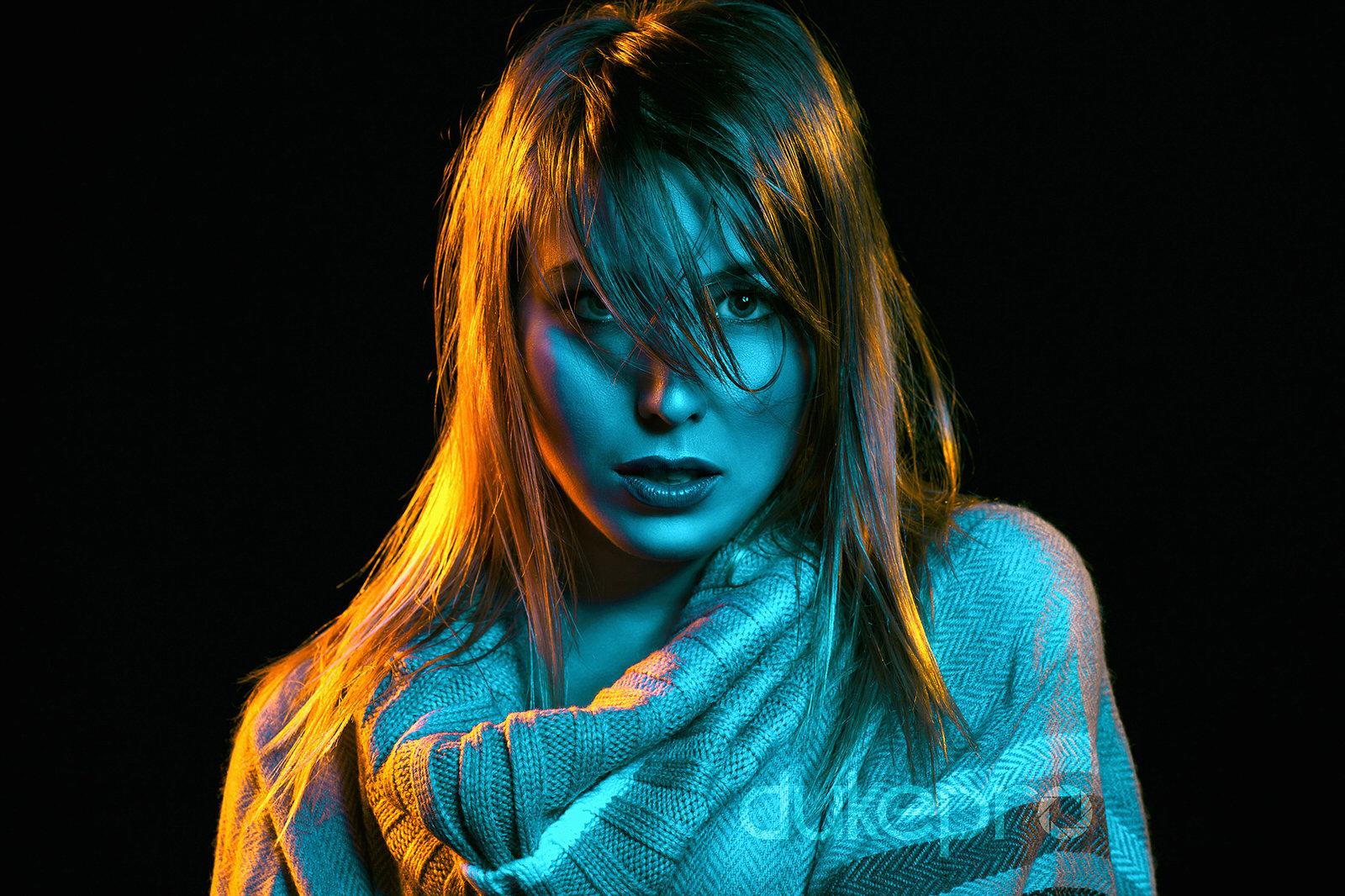 Colored Gels Portrait 101