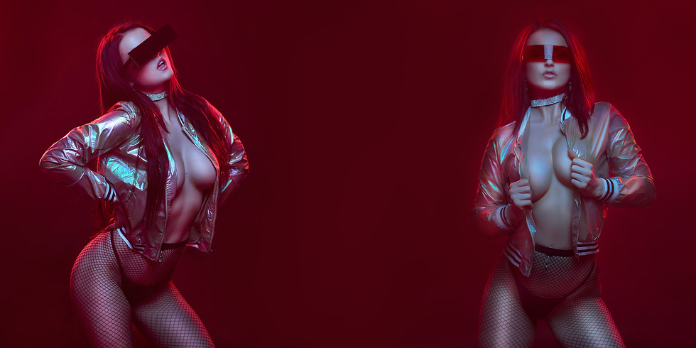 VERONICA LAVERY, Glamour and Fine Art Studio Shootout