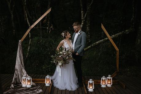 Enchanted forrest wedding
