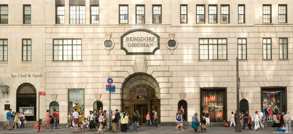 The 5th Avenue storefront in New York City