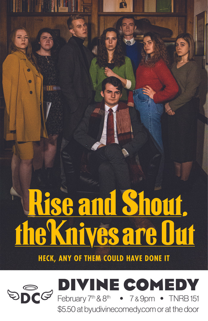 Rise and Shout, The Knives are Out