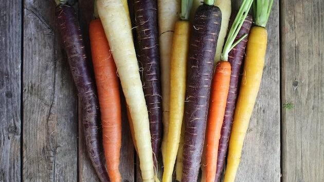 Rainbow Carrots, 1bunch