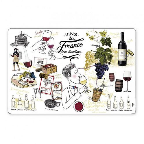 Set de table Vins de Franc