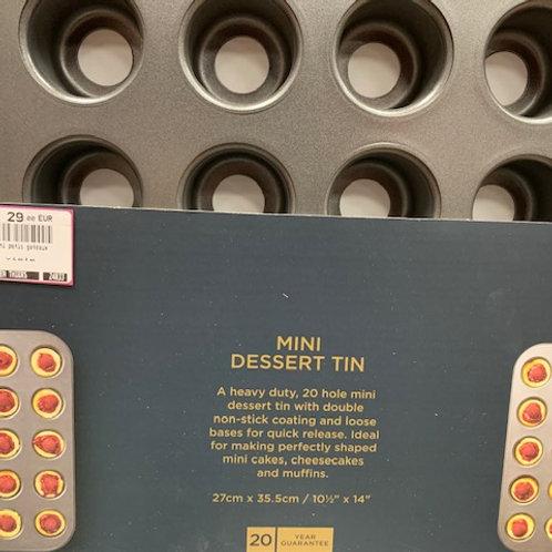 Moule à mini muffin 20 empreintes