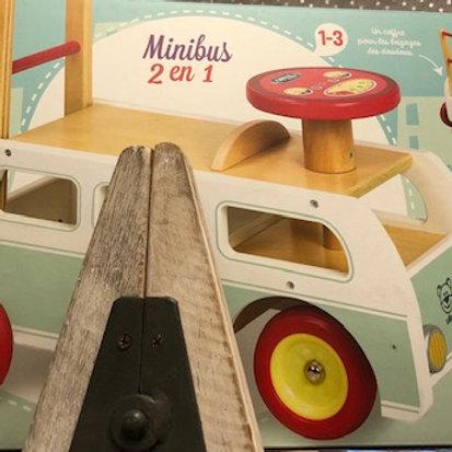 Porteur Minibus 2 en 1