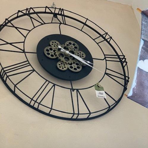 Pendule métal ajourée diamètre 60cm