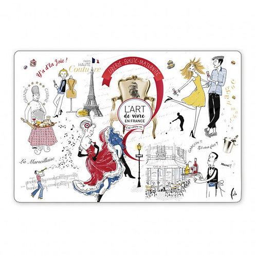 Set de Table Art de vivre à la française