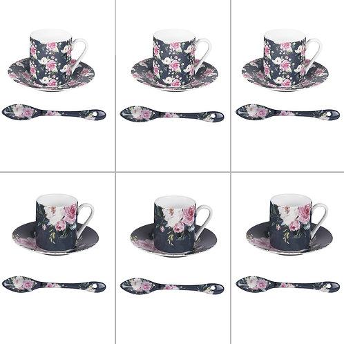 Coffret 6 Tasses et Coupelles