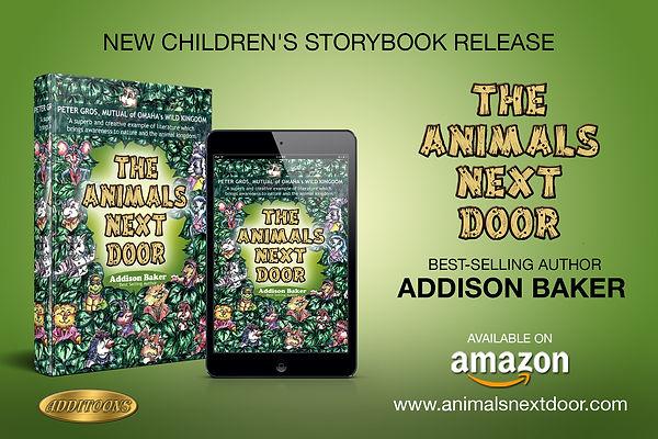 The Animals Next Door-New Release Graphi
