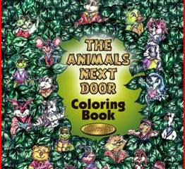 Colorful Characters- New Animals Next Door Coloring Book Release