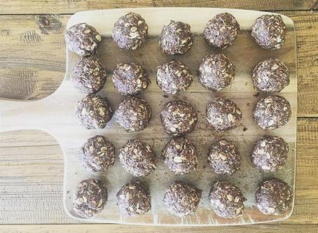 Dark Chocolate Bliss Balls