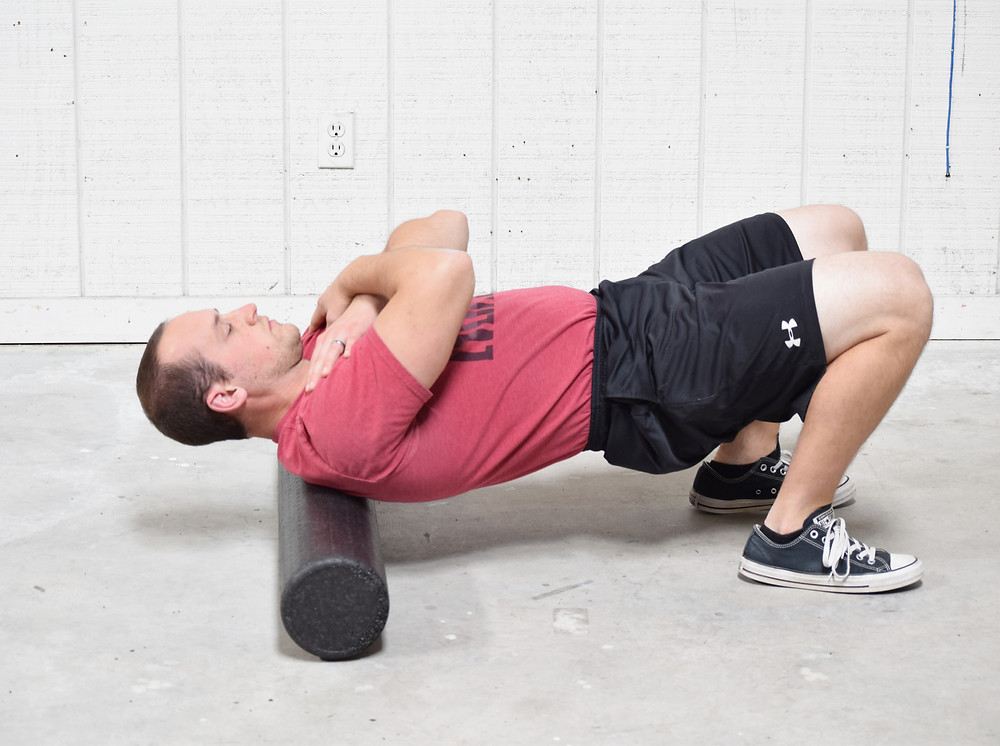Foam rolling for back pain