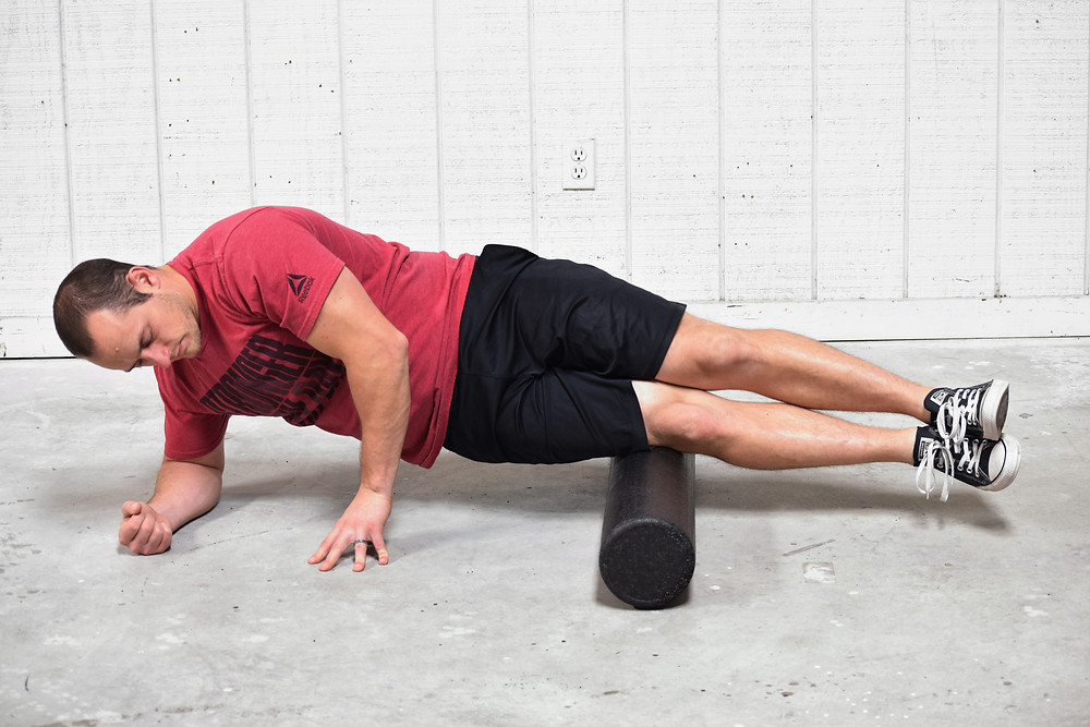 Foam rolling to relieve hip pain