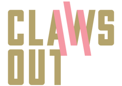 Claws out nail polish logo