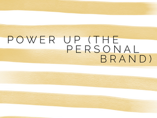 Power Up (The Personal Brand)
