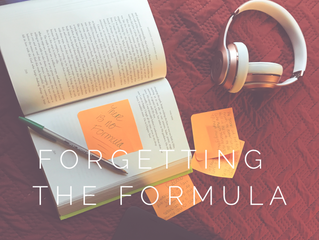 Forgetting the Formula