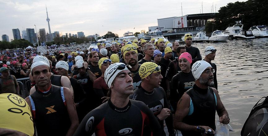 Toronto Triathlon Festival On Deck to St