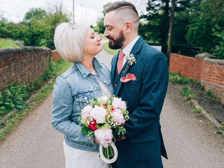 Terri and James' Spring Wedding