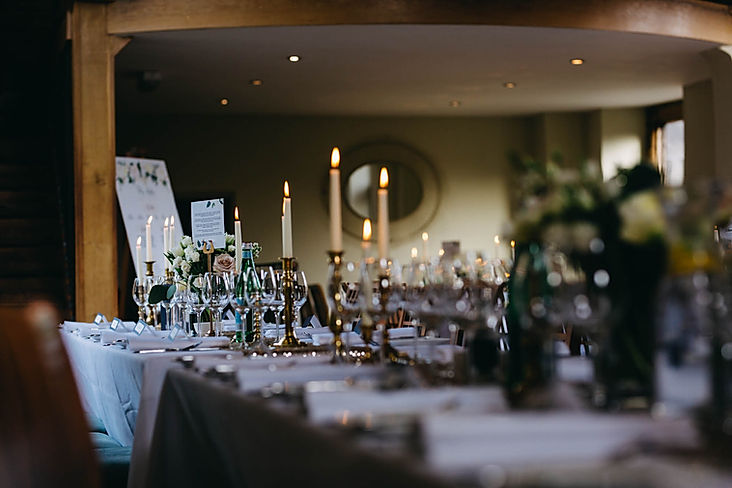 Dodmoor House Catesby Barn Wedding Breakfast