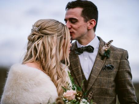 Jenna and Jonny's Winter Wedding