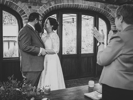 Steph and Iain's Autumn Wedding