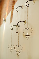 Dodmoor House Hanging Hearts