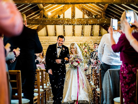 Chloe and Lee's Winter Wedding