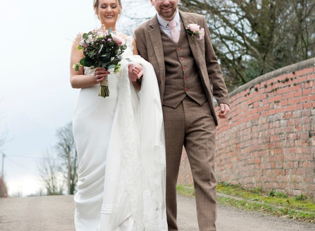 Kelly and Karl's Winter Wedding