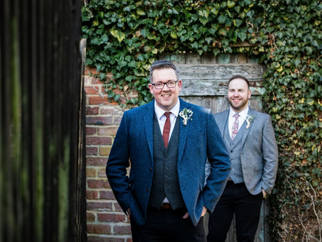 Stephen and Andy's Winter Wedding