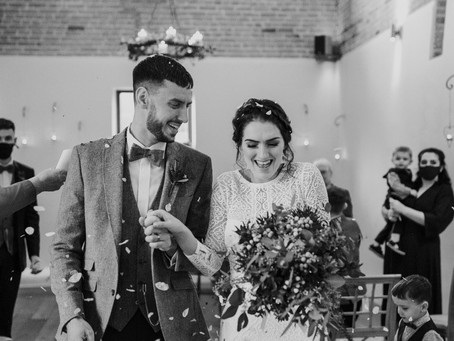 Abi and Dale's Winter Wedding