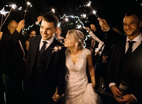 Kristina and Nick's Winter Wedding