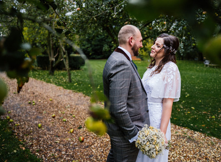Steph and Phil's Autumn Wedding