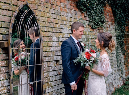 Becky and Rich's Winter Wedding