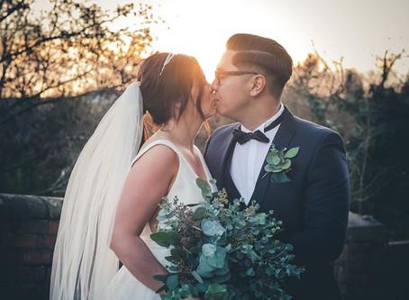 Holly and Jonathan's Winter Wedding
