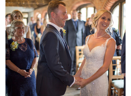 Becky and Callum's Spring Wedding