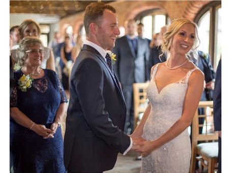 Becky and Callum's Spring Wedding