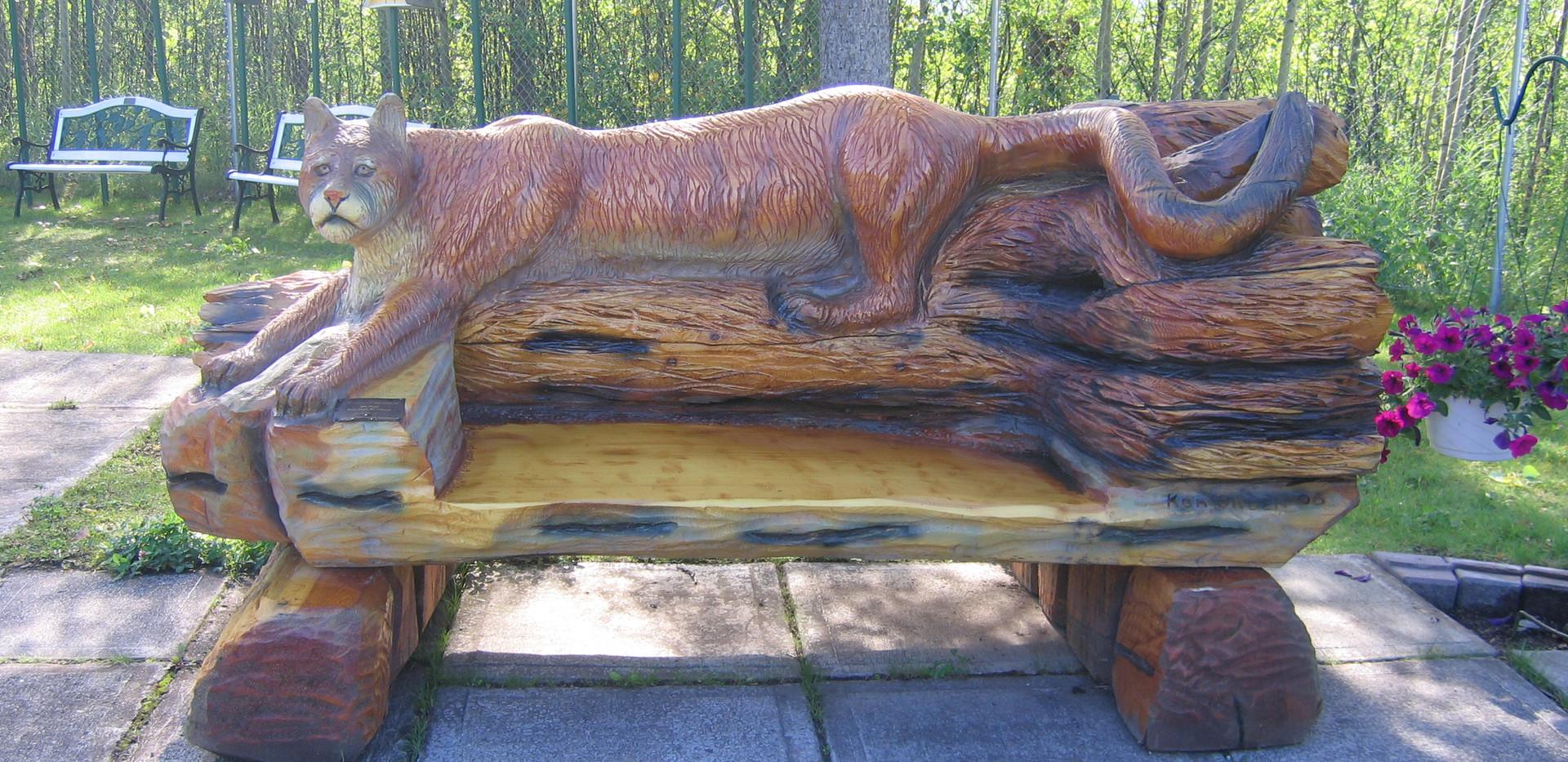 Ken Sheen Cougar Bench 4 2006.jpg